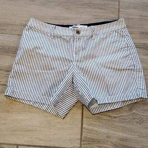OLD NAVY Striped Flat Front Shorts